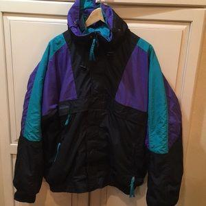 Vintage 90s Columbia ski  puffer jacket xl